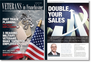 Veterans in Franchising USA article