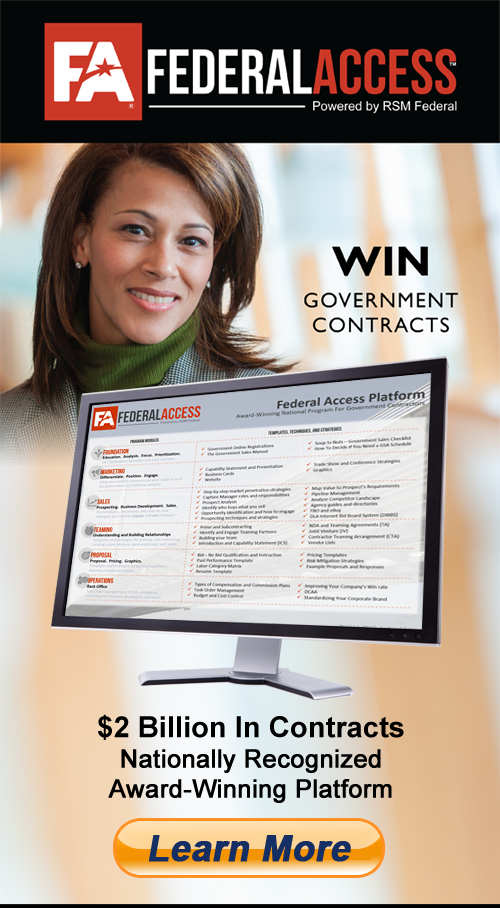 Federal Access Program - How To Win Government Contracts - RSM Federal