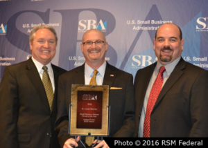 SBA Veteran Business Award