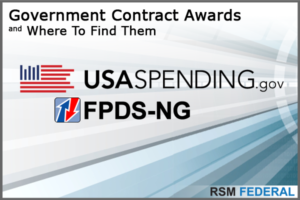 Government Contract Awards - Where To Find Them