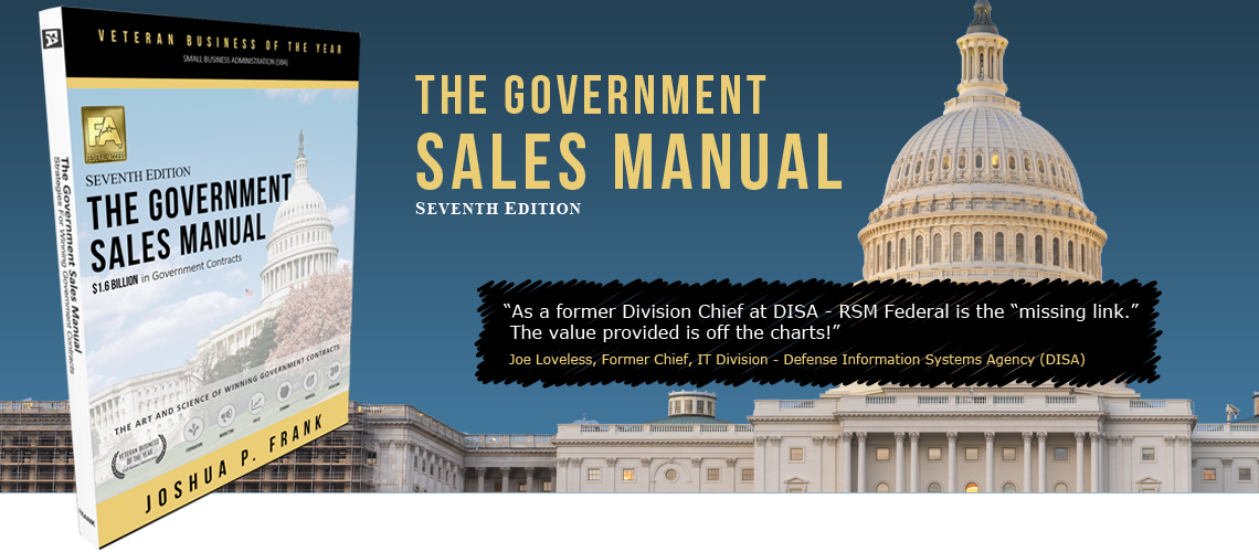The Government Sales Manual - RSM Federal