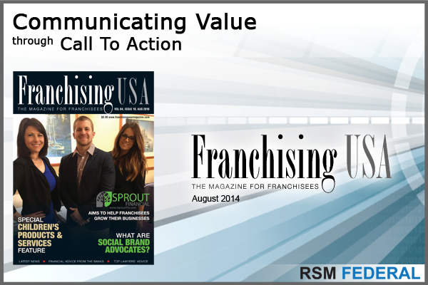RSM Federal - Communicating Value Through Call To Action